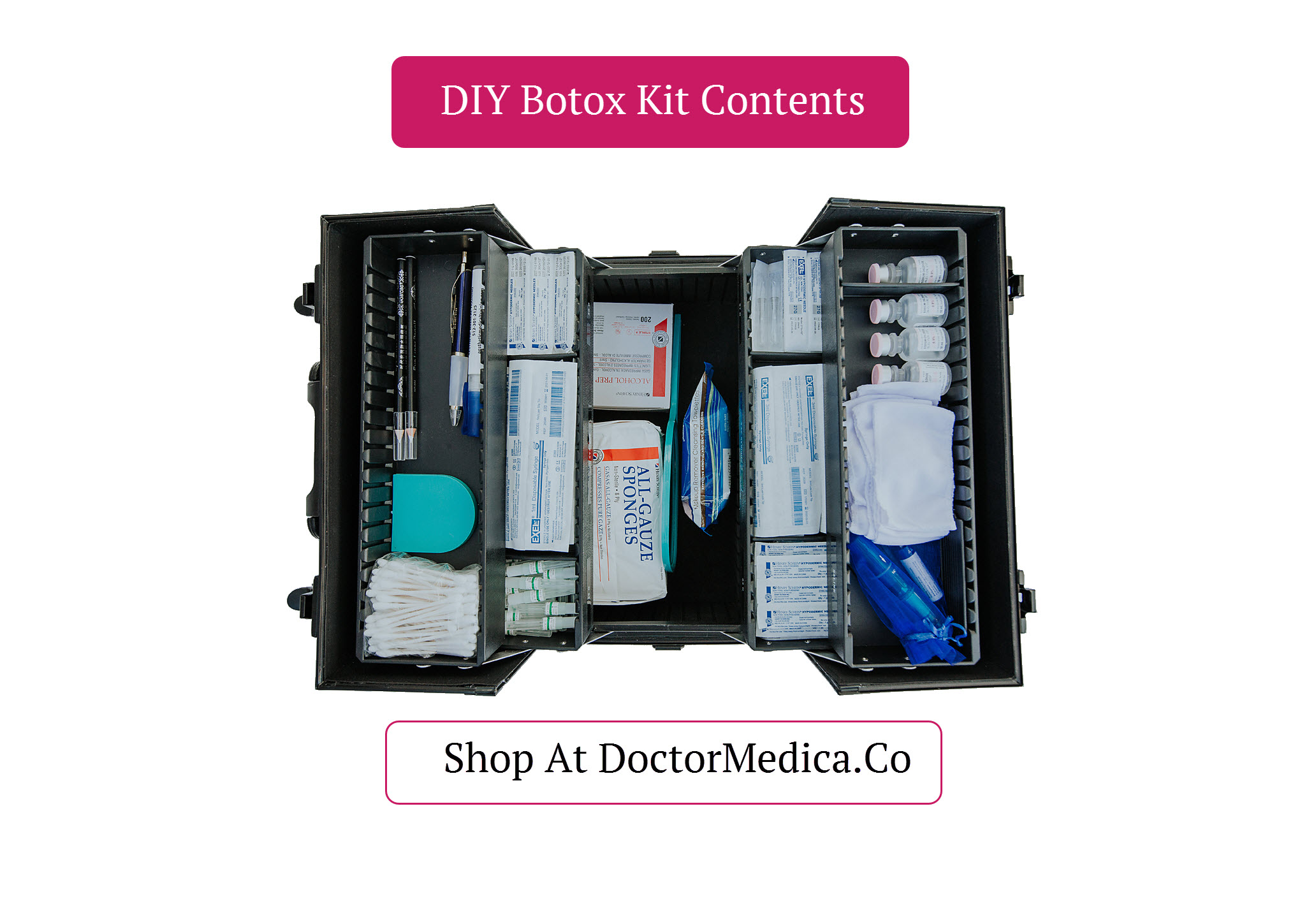 Picture of DIY Home Botox Kit Contents