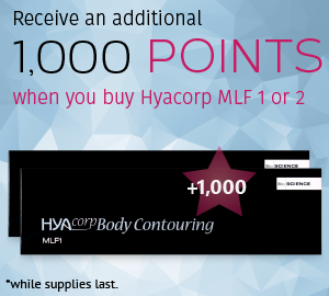Receive an additional 1,000 points when you buy Hyacorp MLF 1 or 2