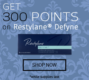 Earn 300 additional points on RESTYLANE® DEFYNE