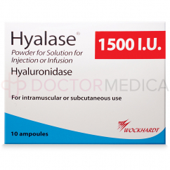 image of HYALASE® box in USA UK English