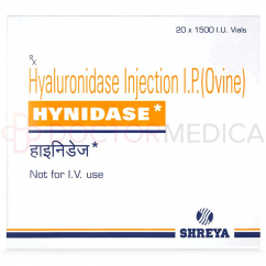 HYNIDASE 1500iu English Alternative 20 x 1500iu vials