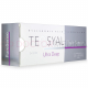 Image shows side of TEOSYAL® PURESENSE ULTRA DEEP original box
