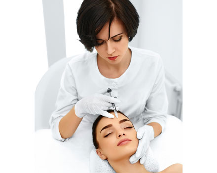 Silicone injectable treatment