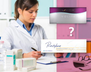 image of juvederm vs restylane products
