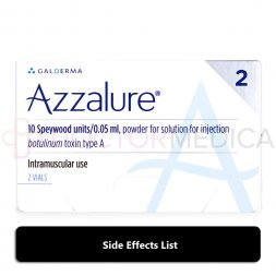 Azzalure side effects list image