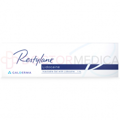 RESTYLANE® 1 ml with Lidocaine 20mg/ml, 3mg/ml 1-1ml prefilled syringe