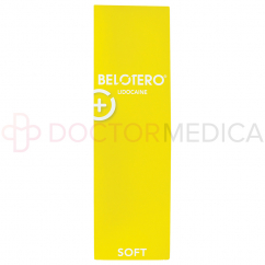 BELOTERO® SOFT w/ Lidocaine 20mg/ml, 3mg/ml 1-1ml prefilled syringe