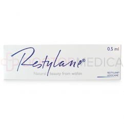 RESTYLANE® .5ml w/Lidocaine .5ml 1 pre-filled syringe