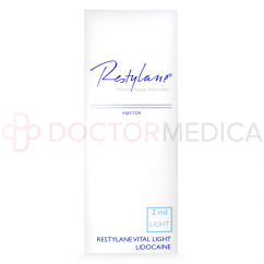 RESTYLANE® VITAL LIGHT™ INJECTOR w/ Lidocaine 2 mL 1 pre-filled syringe