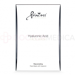 PRINCESS® SKINCARE HYALURONIC ACID MASK  8 sachets