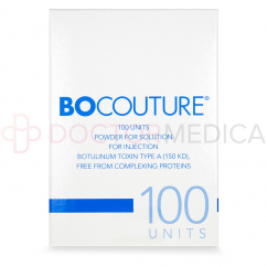 Image of BOCOUTURE® 100 Units box in USA CANADA UK Australian English