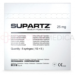 SUPARTZ® English 2.5ml 5 pre-filled syringes