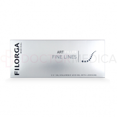 FILORGA ART FILLER FINE LINES with Lidocaine 1 mL 2 pre-filled syringes